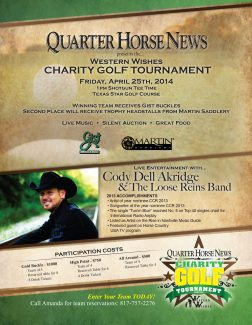 Western Wishes Charity Golf Tournament