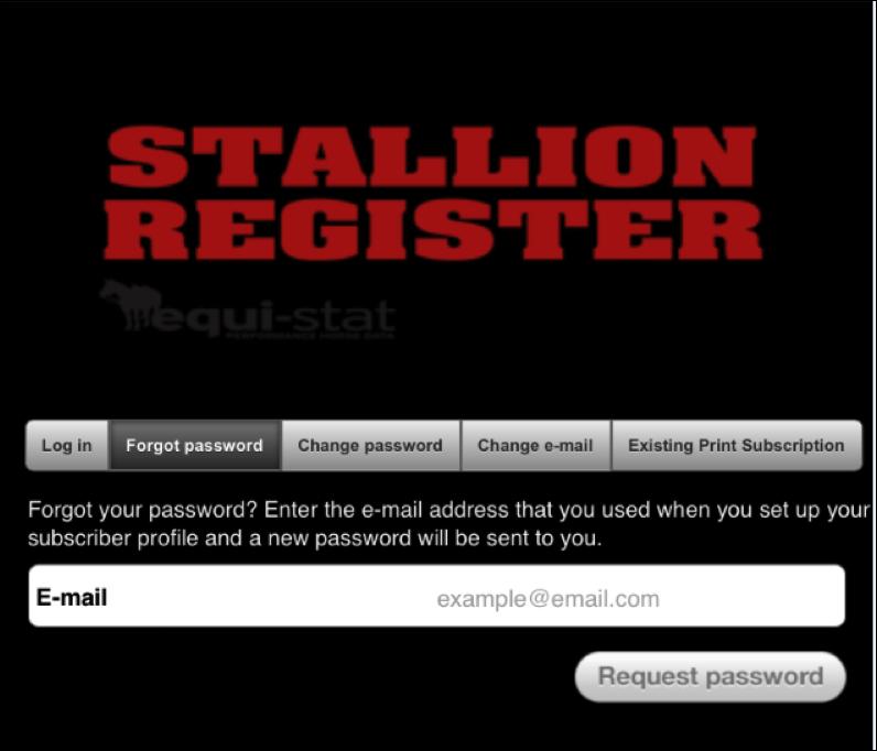 Stallion Register App Guide 2