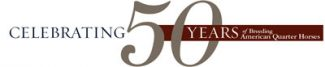 AQHA50YearLogo2015 web400
