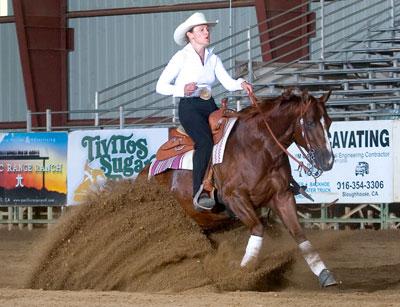 In the Blood: Legend Slides Wright - Quarter Horse News