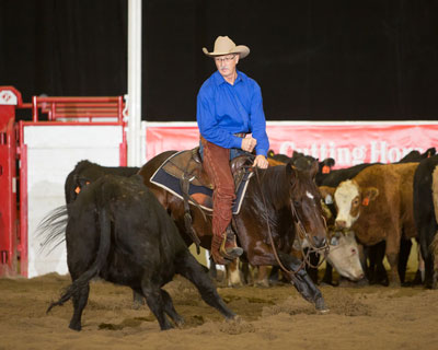 In The Stats Calgary Stampede Wrangler Cutting Horse