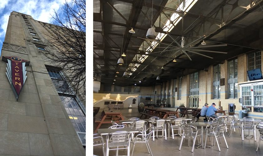 The T&P Tavern boasts the biggest dining patio in Fort Worth, at 5,000 square feet.