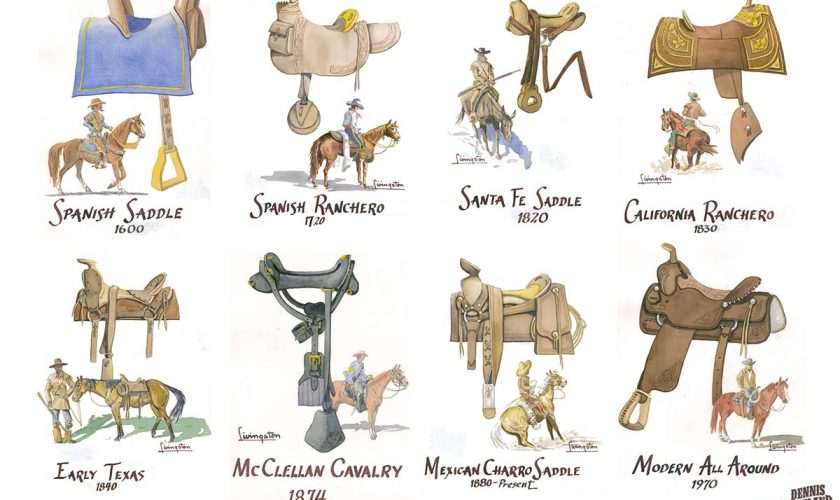 Saddles throughout history