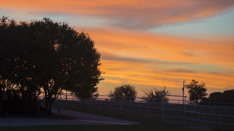 Sunrise at SDP Buffalo Ranch