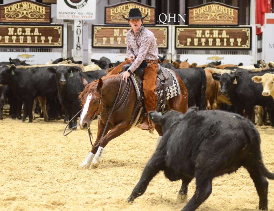 Blake-Hied-Nothing-Comes-easy-ncha-futurity