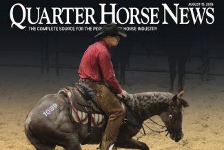 Quarter Horse News magazine august 15th issue