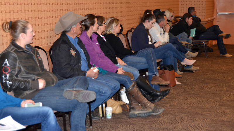 NRHA board of directors meeting.