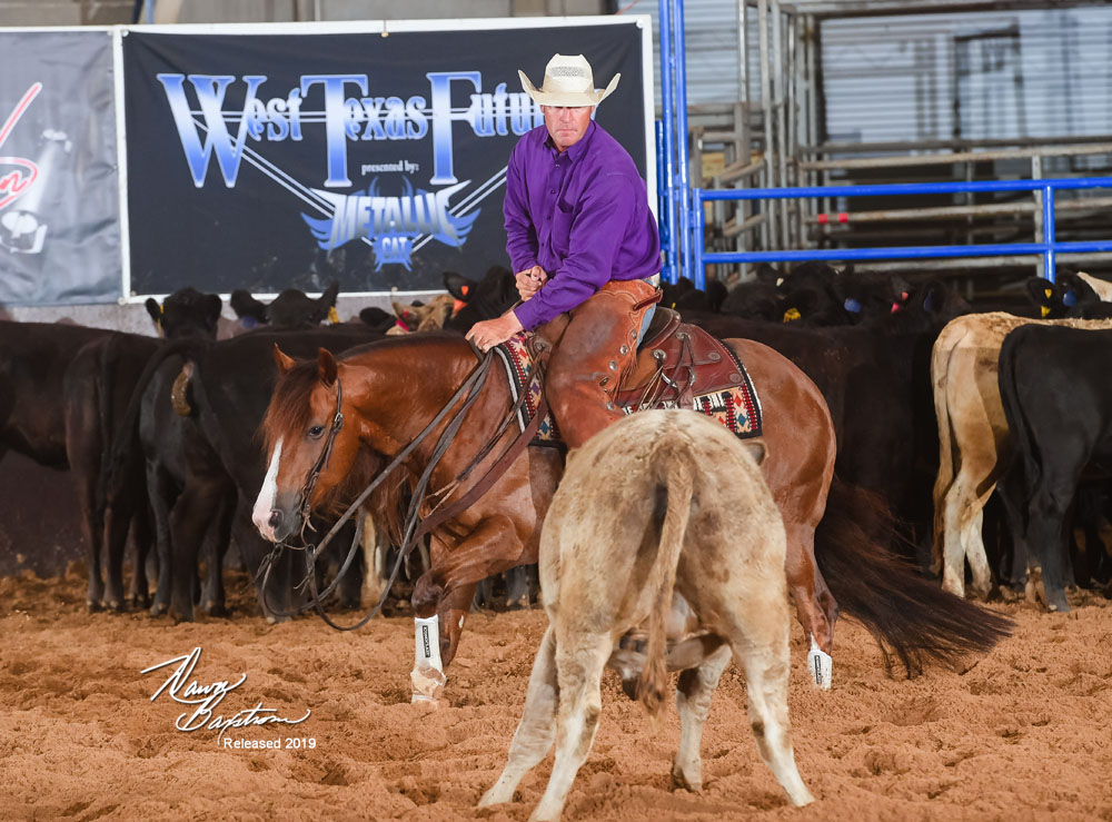 West Texas Futurity 4-year-old Open Limited Champion