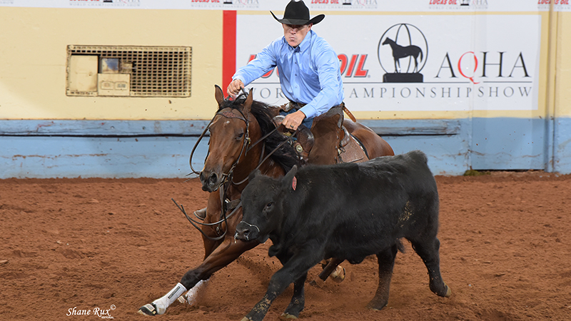 Shawn Hays pilots Moonshineandtwoadvil to World title.