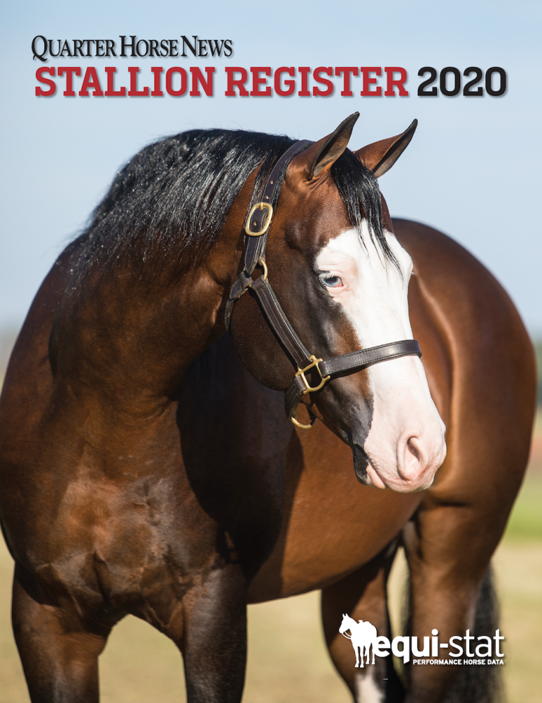 2020 QHN Stallion Register Cover