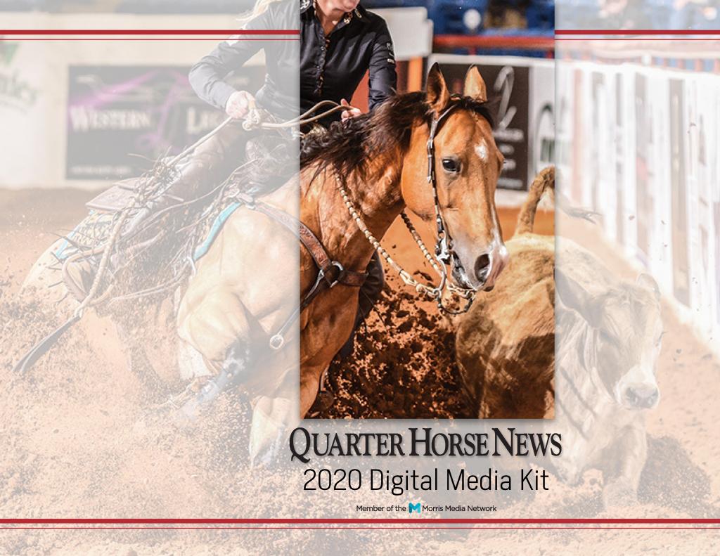 Quarter Horse News Digital Media Kit 2020 cover