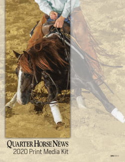Quarter Horse News Print Media Kit 2020