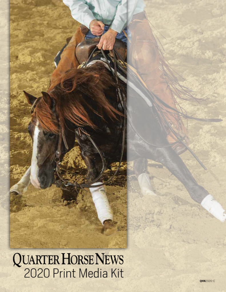 Quarter Horse News Print Media Kit 2020