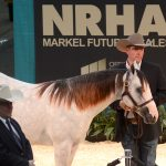 nrha markel select yearling sale topper inferno on ice