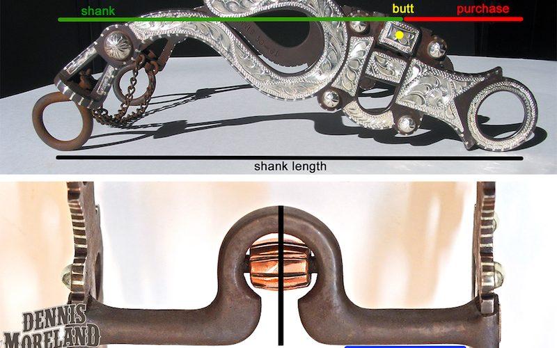 curb bit measurement diagram