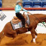 APHA Youth World champions Madison Pokluda and Jh Gunmetal blue