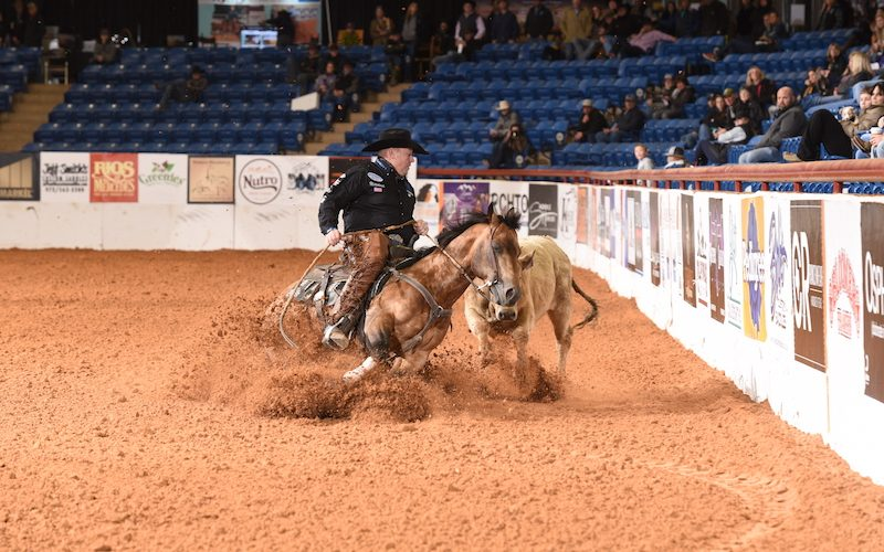 Shiney Outlaw and Jay McLaughlin at the NRCHA Celebration of Champions.