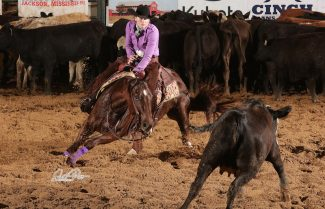 Missy Jean Etheridge and Cutting Commander