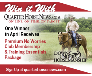 Quarter-horse-news-monthly-contest-downunder-horsemanship