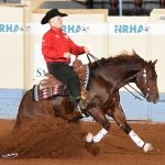 Cade McCutcheon and Super Marioo at the NRHA 2019