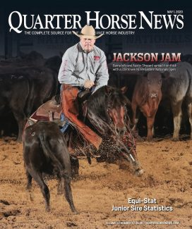 Quarter Horse News magazine May 1, 2020, cover