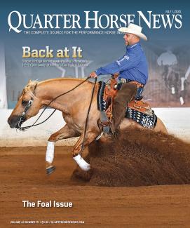 Quarter Horse News magazine July 1, 2020 cover