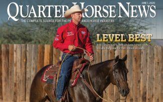 quarter horse news magazine june 1 2020 cover snippet