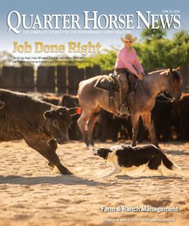 Quarter Horse News magazine June 15, 2020, cover