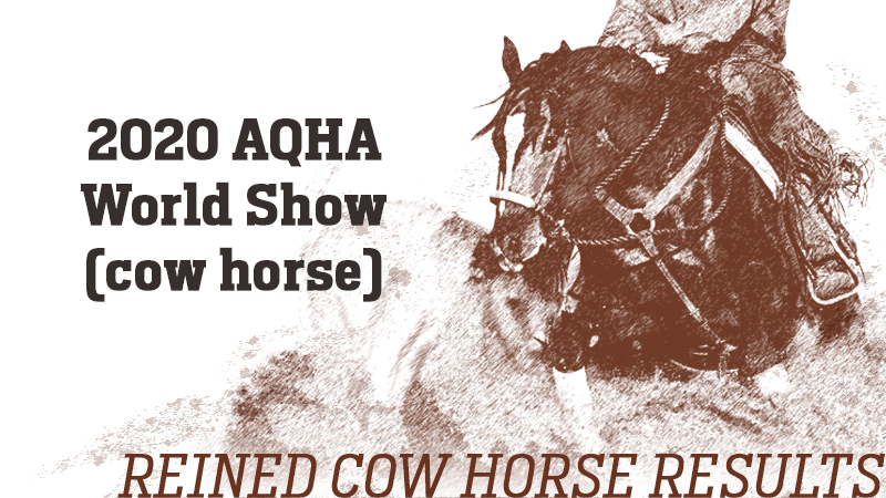 aqha-world-show-results
