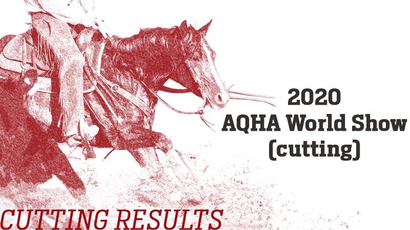 aqha-world-show-results